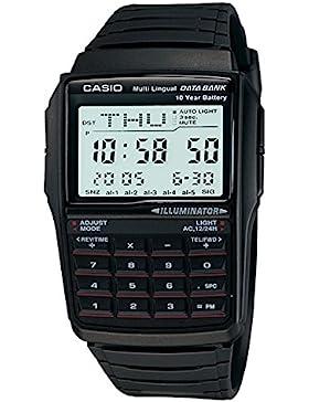 Casio Collection – Unisex-Armbanduhr mit Digital-Display und Resin-Armband – DBC-32-1AES