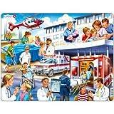 Rahmenpuzzle - Krankenhaus