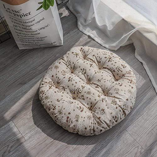 Tatami Mats Sitzkissen für drinnen und draußen, tiefe Sitzkissen für Gartenstuhl, Büro, Auto,...