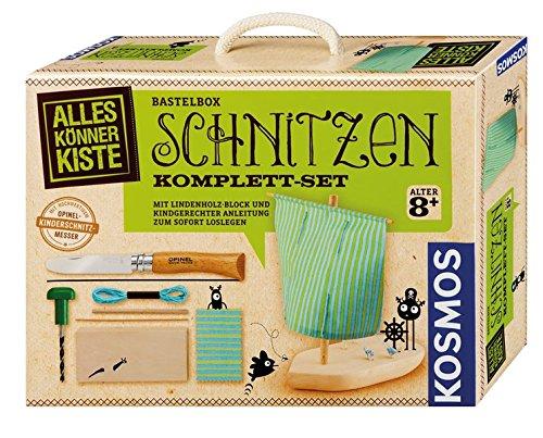 Preisvergleich Produktbild Kosmos AllesKönnerKiste 604257 - Schnitzen Komplett-Set