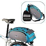 PhilMat ROSWHEEL lados dobles bici bicicleta trasera del asiento de la cola bolsa maletas