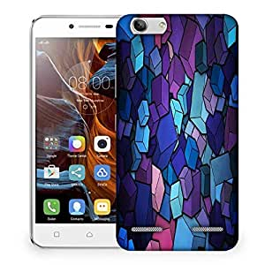 Snoogg Square shapes Designer Protective Back Case Cover For Lenovo K5 Vibe