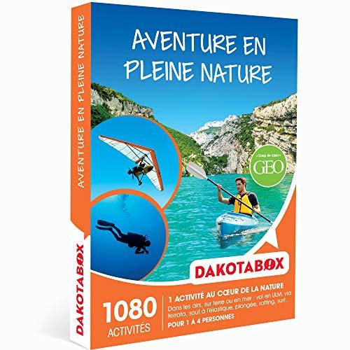 DAKOTABOX - Coffret Cadeau - AVENTURE EN PLEINE NATURE - 1080 activités au grand air...
