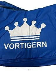 Vortigern Coussin de protection pour trampoline rond - Diamètre env. 245 cm - Bleu