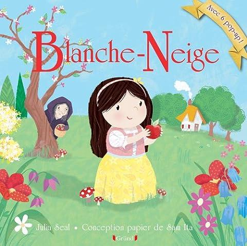 Livre Anime Blanche Neige - Blanche-Neige et les sept