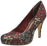 Tamaris Damen 22407 Pumps, Rot (Bordeaux Comb. 698), 37 EU