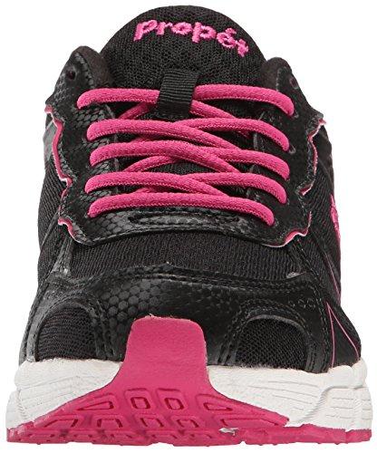 Propet XV550 Synthétique Chaussure de Course Black-Pink