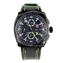 Luminox Tony Kanaan Valjoux Limited Edition Herren Automatikuhr schwarz/grün/gelb 1188