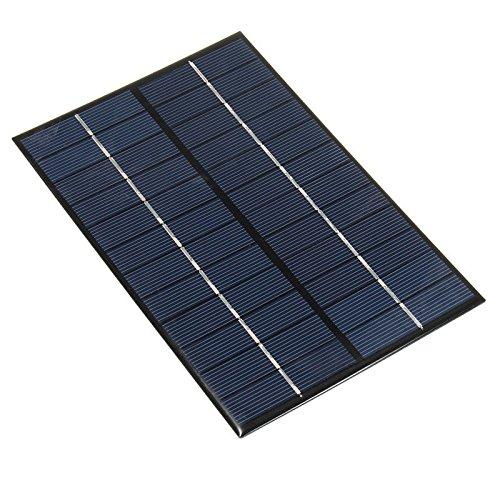Características:  4.2 w 12V panel solar 130 mm x  Grande para el proyecto de DIY, se puede utilizar para cargar las baterías 12V  100% de energía silenciosa y verde  Puede ser utilizado para las baterías que cargan durante viaje al aire libre, acampa...