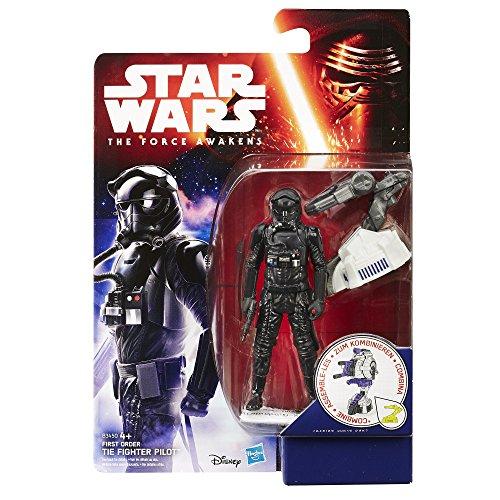 """Preisvergleich Produktbild Hasbro Star Wars B3450ES0 - E7 3.75"""" Basisfigur: First Order Tie Fighter Pilot, Actionfigur"""