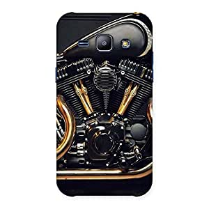 Stylish Awesome Cruise Engine Back Case Cover for Galaxy J1