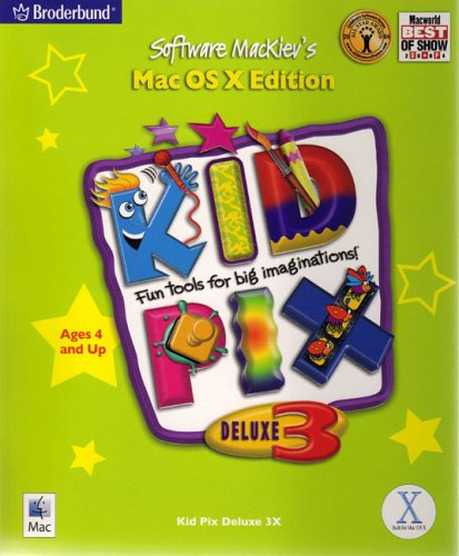 Kid Pix Deluxe 3X (Macintosh) (Kid Pix)