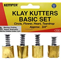 Kemper 3 Large Teardrop Cutters Klay Kutters Clay Sugar Paste