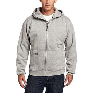 Arborwear Men's Double Thick Full Zip Sweatshirt, Athletic Grey, X-Large