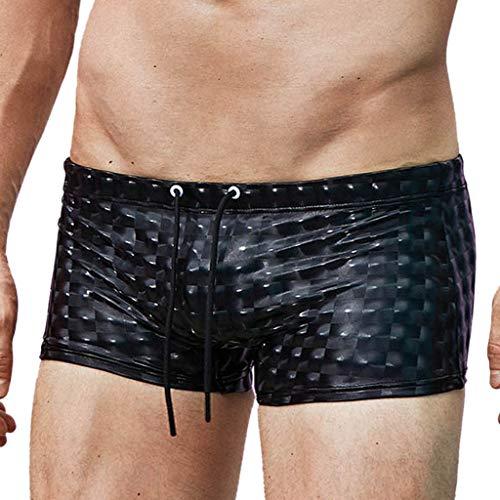 hahuha Kleidung Hosen Dekompressionsspielzeug, Men es Summer Fashion Belt Drawstring Fitness Beach Schwimmen Sporthosen Drawstring Beach Hose
