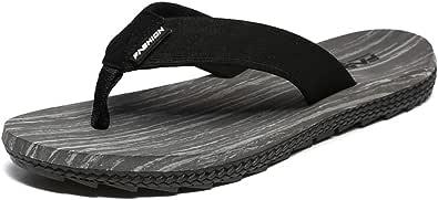 Flip Flops da uomo Sandali antiscivolo estivi Scarpe da spiaggia comode e da esterno Pantofole da interno e da esterno