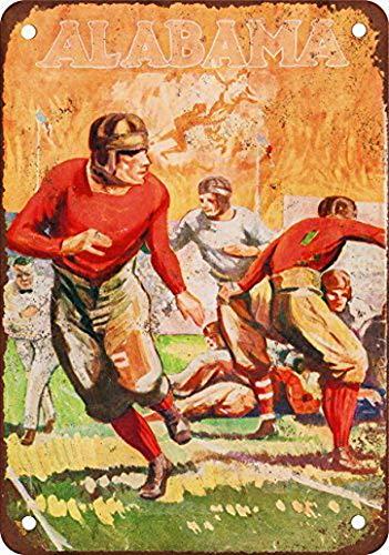 Sylty Blechschild, Motiv: Fußballtor Zigaretten, Vintage-Look, Reproduktion, 20,3 x 30,5 cm 8inch*12inch Chxu1537 (Wie Ist Hoch Fußballtor Ein)