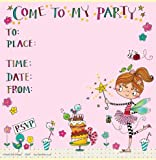 Fairy & Cake Party Einladungen