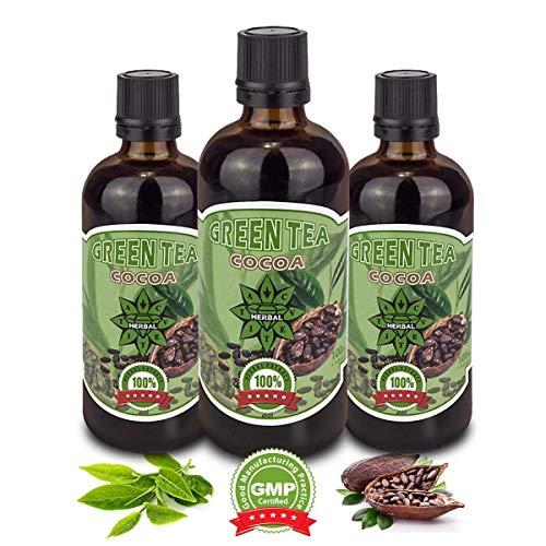 Cvetita Herbal,3 x Té verde Cacao,3x 100 ml Sérum