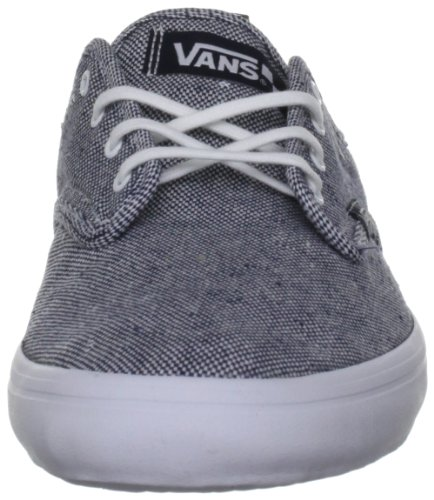 Vans Vqgt7Xt, Baskets mode homme Turquoise (Washed Textile)
