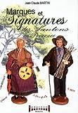 Marques et signatures des santons de Provence