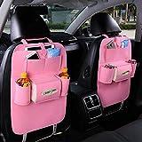YOYOBABY Rückenlehnenschutz Auto Rücksitz Organizer Tasche Utensilientasche