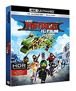 Lego Ninjago - Il Film (Blu-Ray 4K Ultra HD + Blu Ray)