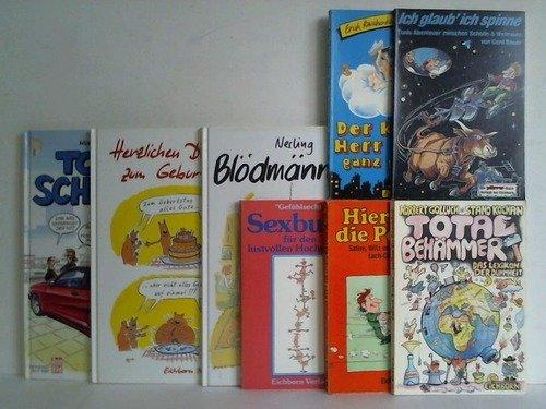 Sammlung von 8 verschiedenen Bänden