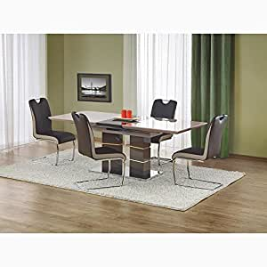 JUSThome Ensemble Table Lord Brune + 4 Chaises K184