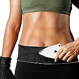 PORTHOLIC Laufgürtel für Smartphone,Lauftasche,Schlüssel Hüfttasche,Jogging Flip Gürtel mit...