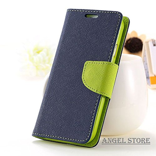 Angel Store Covers For Micromax A 106 Flip Cover Wallet Case (Green)  available at amazon for Rs.186
