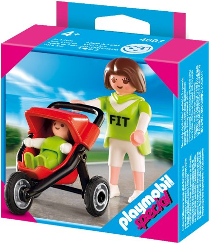 Playmobil 4697 - Special Mama mit Baby-Jogger