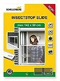 Schellenberg 50810 Protección antiinsectos corredera para Ventanas con persianas (máximo 142 x 50 cm)