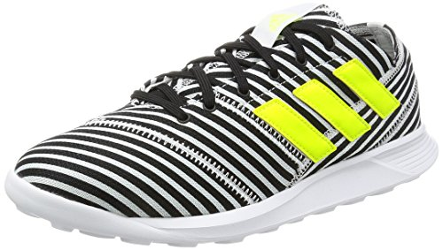 adidas Nemeziz 17.4 TR, Chaussures de Football Homme Noir (Core Black/Solar Yellow/footwear White)