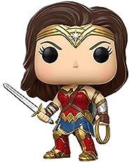 FunKo Justice League Wonder Woman Movie Gal Gadot Pop Vinyl Action Figure Merchandise Accessories (Multicolour)
