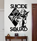 DC Harley Quinn Comics Suicide Squad (Task Force X) Art Mural Autocollant/Autocollant