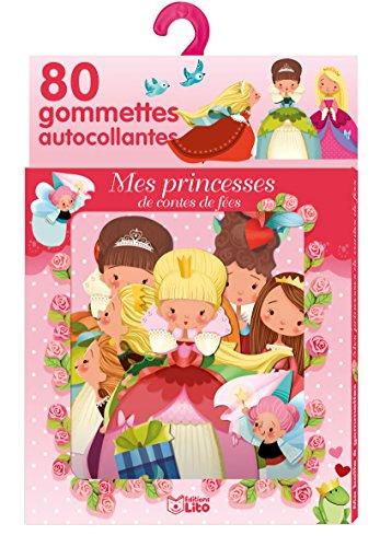 Ma boîte à gommettes: Mes princesses de contes de Fées - De 3 à 5 ans par Emmanuelle Colin