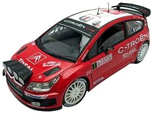 Solido - 118008-00 - Véhicule Miniature - Citroen C4 WRC - Winner Monte-Carlo 07 - Nuit - Echelle 1/18