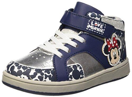 Walt Disney Sneaker, Scarpe da Neonato Bambina, Argento, 27 EU