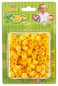 Hama 8503 - Cuentas para Planchar, Color Amarillo