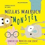 MILLAS MONSTER MALBUCH - Erwecke die Monster zum Leben!: Lebendiges kritzeln ab 4 Jahren (PAPERISH® Kinderbücher)