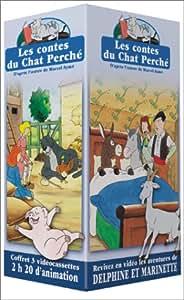 Coffret Les Contes du chat perché 3 VHS : Les Contes Rouges