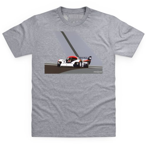 Speed Icons 956 LM T-shirt, Uomo Grigio mlange