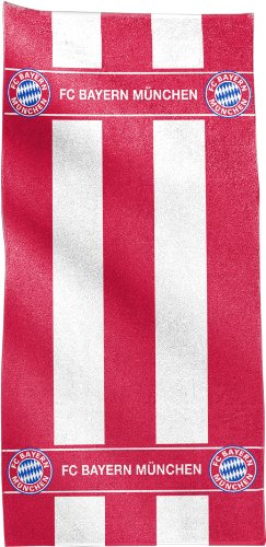 FC Bayern Duschtuch rot Größe 70x140 cm