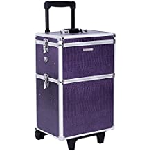 Songmics Trolley Make up Beauty Case Nail Art Valigia Cofanetto Porta Gioie Smalti Oggetti JHZ03P
