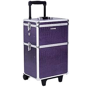 Songmics Trolley Make up Beauty Case Nail Art Valigia Cofanetto Porta Gioie Smalti Oggetti JHZ03P