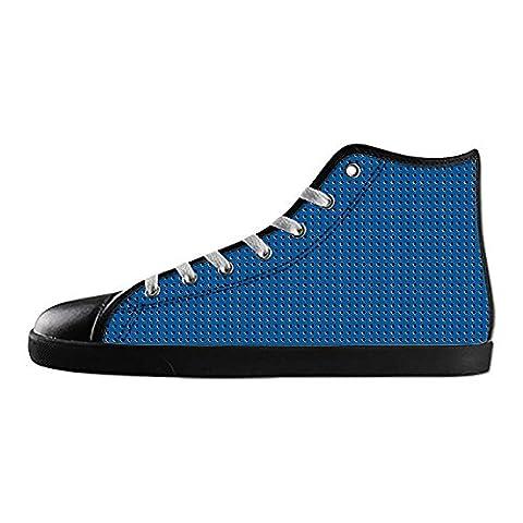 Dalliy Metal Men's Canvas Shoes Lace-up High-top Footwear Sneakers Chaussures de toile Baskets