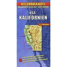 Carte routière : United States, California