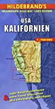 Hildebrand's Urlaubskarten, United States, California (Hildebrand's USA maps) - Collectif