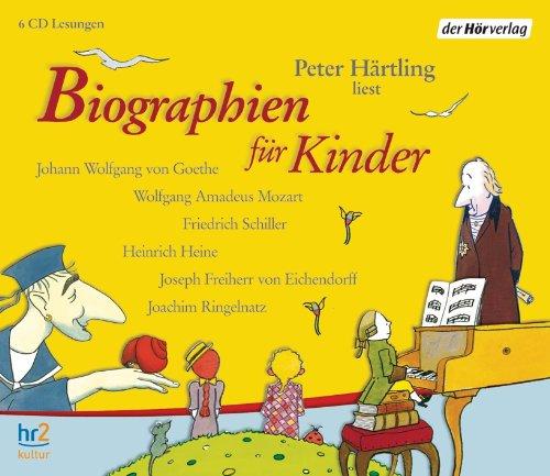 Buchseite und Rezensionen zu 'Biographien für Kinder' von Peter Härtling